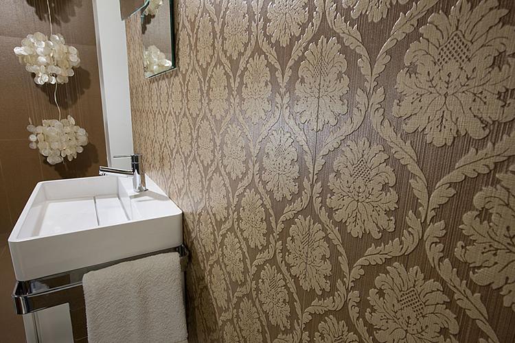 Плитка «под ткань» для ванной