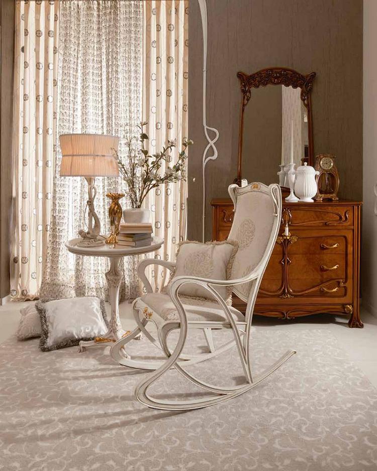 Интерьер с креслом в стиле модерн