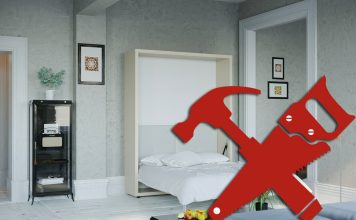 Шкаф-кровать своими руками: идея для крохотной квартиры