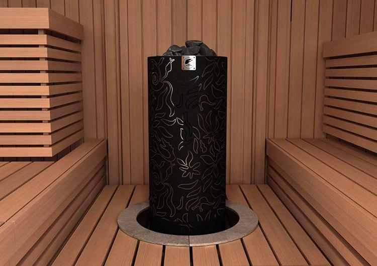Для частного дома с большой площадью сауны требуется оборудование повышенной мощности с массой камней от 50 до 70 кг