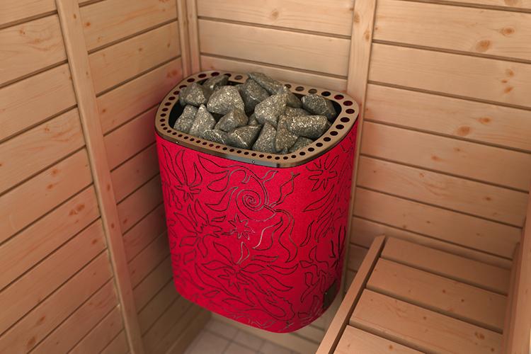Обычно их используют в малогабаритных банях и саунах