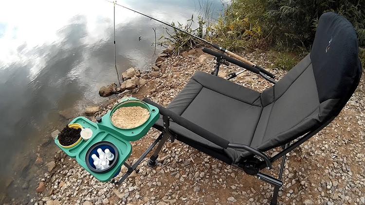 Хорошее кресло может сделать процесс рыбалки более комфортным