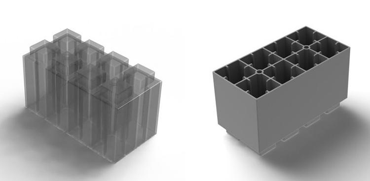 Строение полноразмерного блока