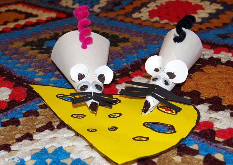 Бумажные мыши бывают разными