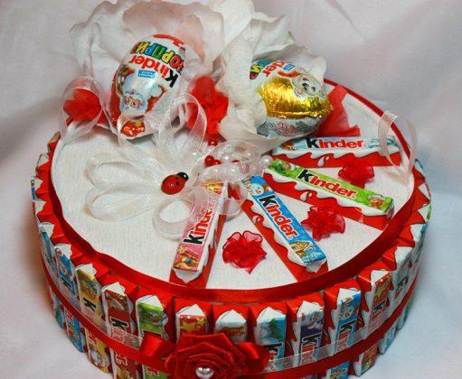 От такого новогоднего торта не откажется не только ребёнок, но и его родители