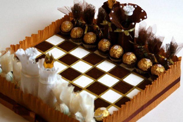 Сыграть в такие шахматы согласится даже папа утром 1 января