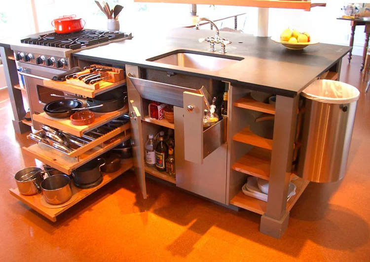 Габариты модулей должны соответствовать размерам кухни