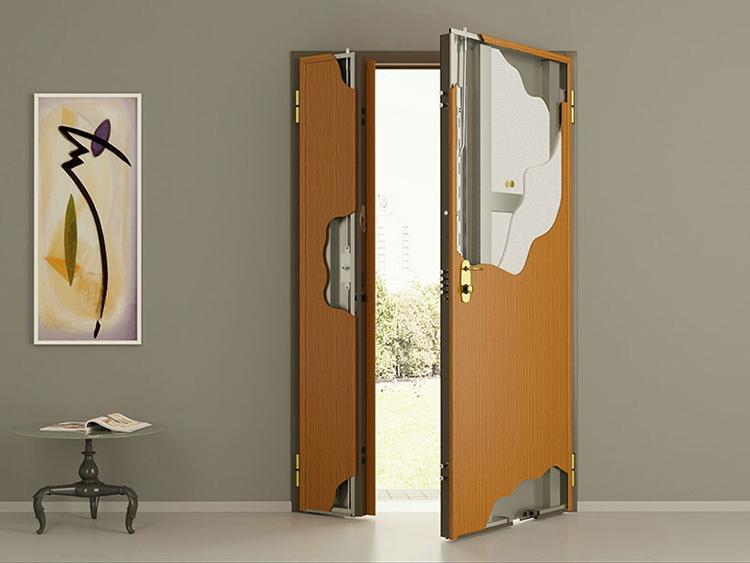 Такие двери хорошо сохраняют тепло, не накапливают статического электричества и настолько прочны, что злоумышленники не смогут с ними справиться