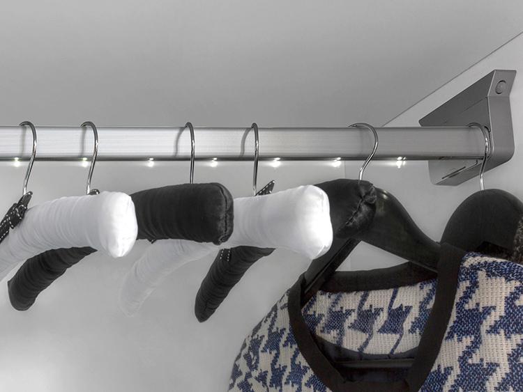 Традиционная штанга для плечиков