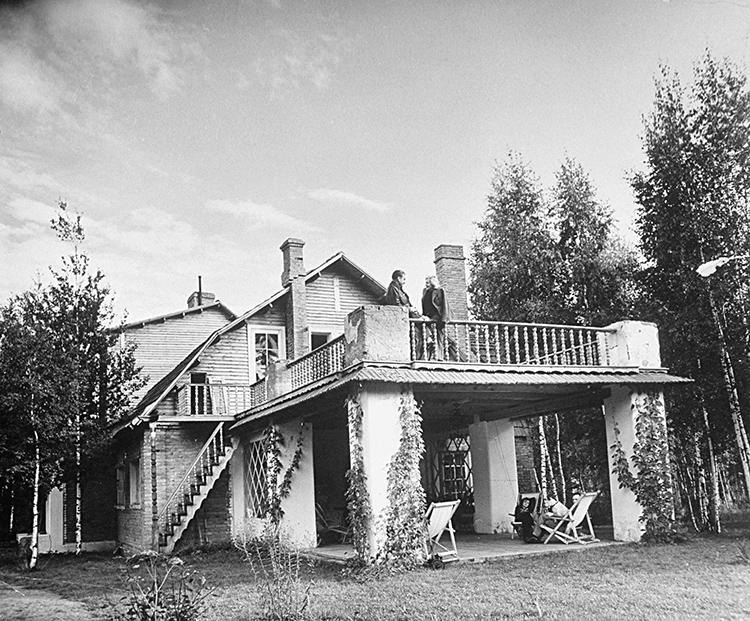 Так дом выглядел при первой хозяйке