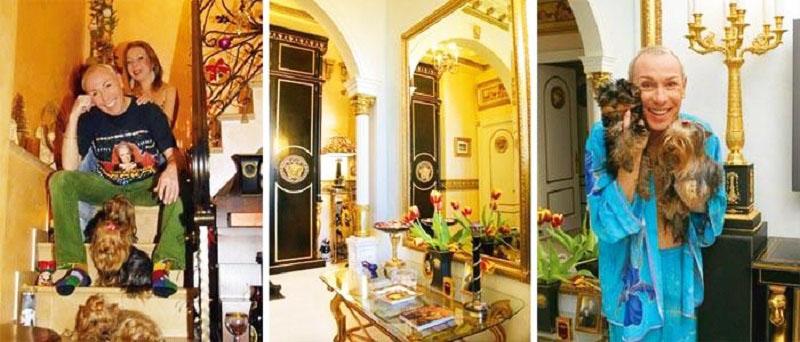Дворцовый интерьер в стиле Versace короля пародий Александра Пескова