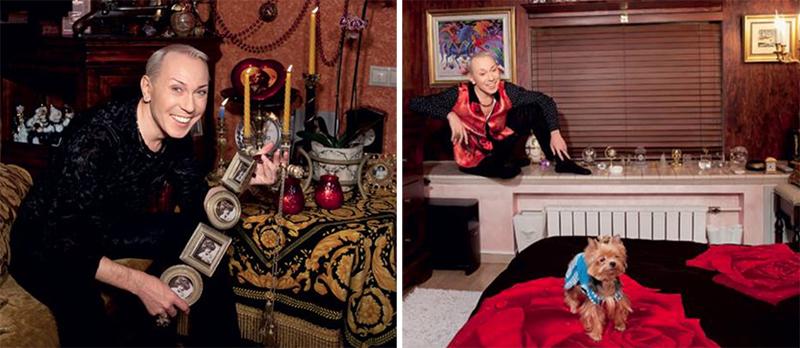 Александр Песков собирал предметы декора по всему миру