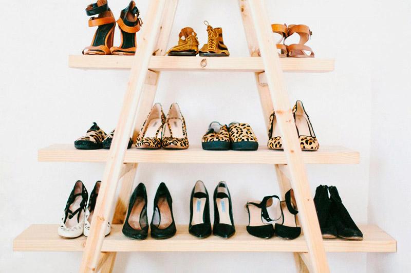 Этажерка для обуви: фотоидеи