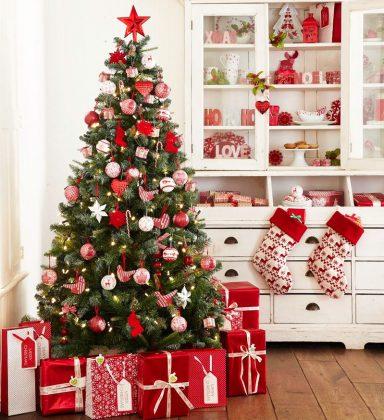 Для тех, кто ещё не успел - как красиво и стильно украсить ёлку на Новый год