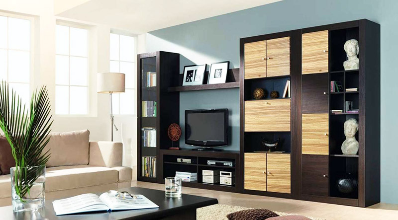Модульная мебель для гостиной в современном стиле: правила выбора