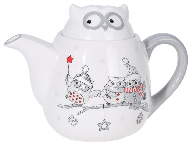 Чайник можно приобрести вместе с аккуратными чашечками