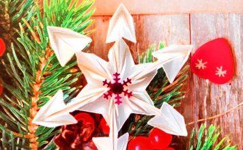 Оригами на Новый год своими руками