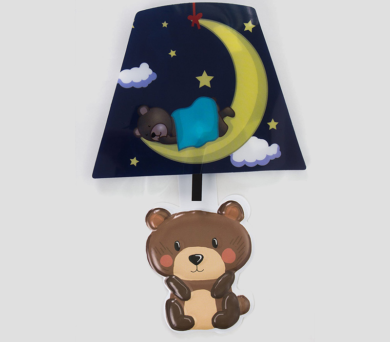 С таким ночником малыш не станет бояться темноты и будет спокойно спать