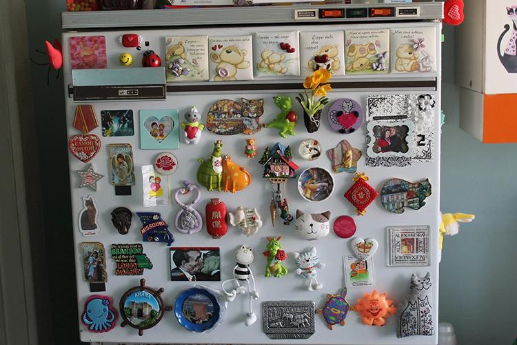 Магниты на холодильнике – это страшный сон дизайнера