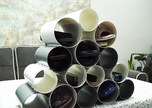 Этажерка для обуви из подручных материалов - креативные идеи и фото