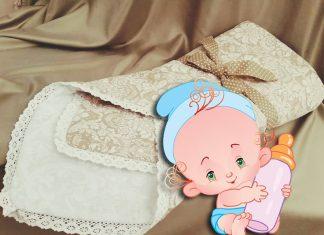 Самое лучшее с рождения: почему стоит сшить конверт на выписку новорождённого своими руками