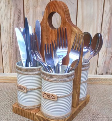 Подставка для ножей своими руками: мастер-классы и идеи