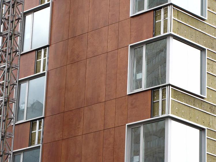 Современные фасадные системы обеспечивают зданию прекрасный внешний вид