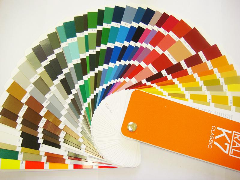 Широкая цветовая гамма позволяет выбрать подходящий оттенок