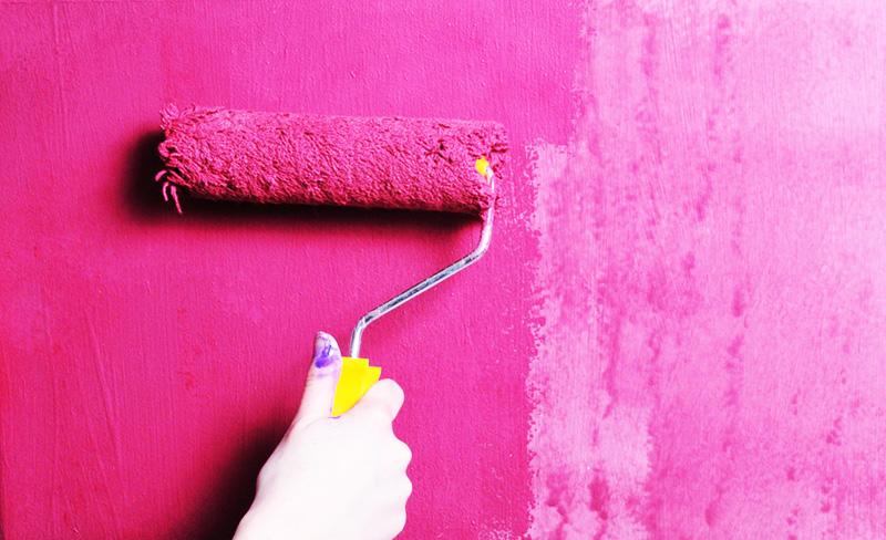 Цвет покрытия может быть весьма насыщенным
