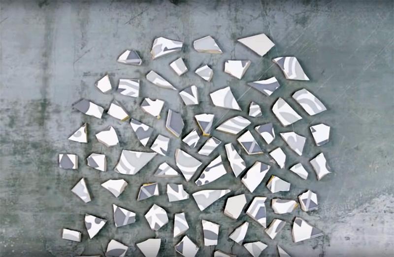 Что можно сделать с остатками кафельной плитки