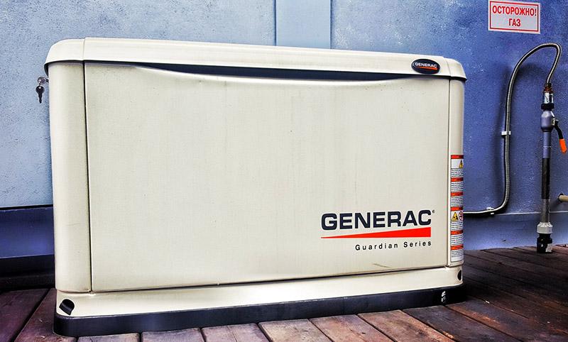 Generac 6271 – небольшой уровень шума