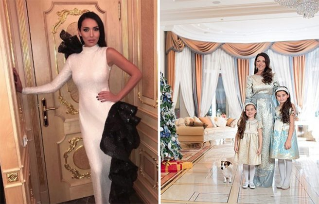 Уникальная дворцовая классика в апартаментах и резиденциях Алсу и Яна Абрамова