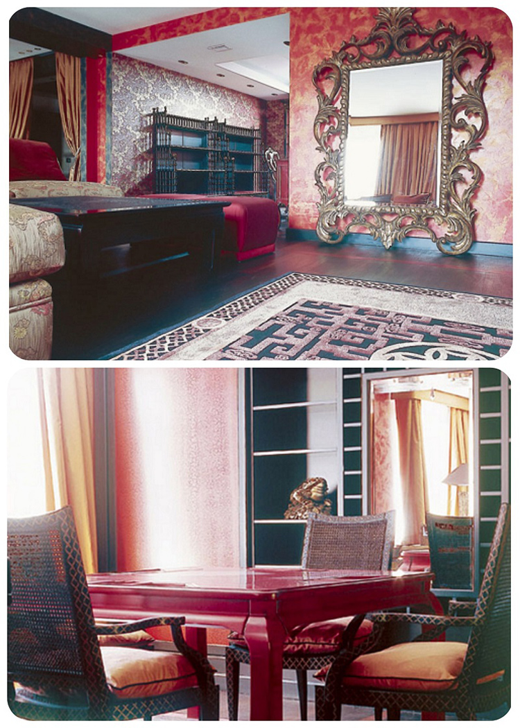 Из гостиной можно попасть в игральную комнату, в которой друзья семьи частенько разыгрывают партии в преферанс