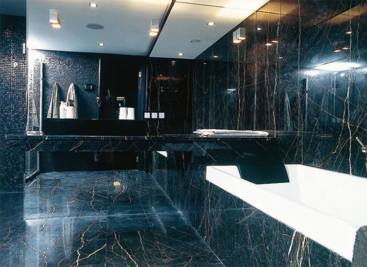Эффектная ванная комната Натальи Ионовой