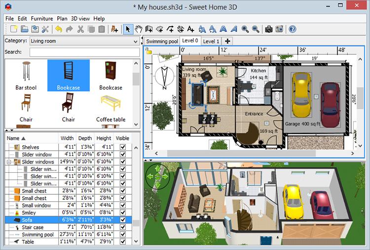 Основной механизм работы программы — распределение моделей по рабочей сцене