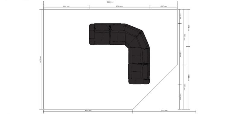 Скрин работы сервиса Kitchenplanner от IKEA
