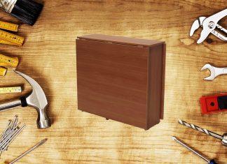 Как отреставрировать видавший виды стол-книжку