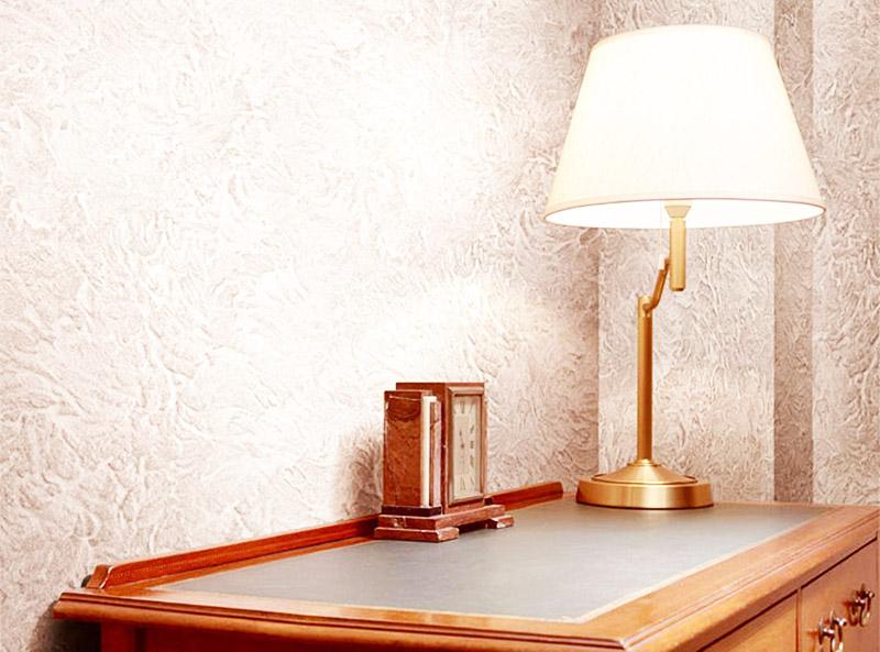 Из-за низкой влагостойкости декстринированную используют для оформления стен в сухих помещениях