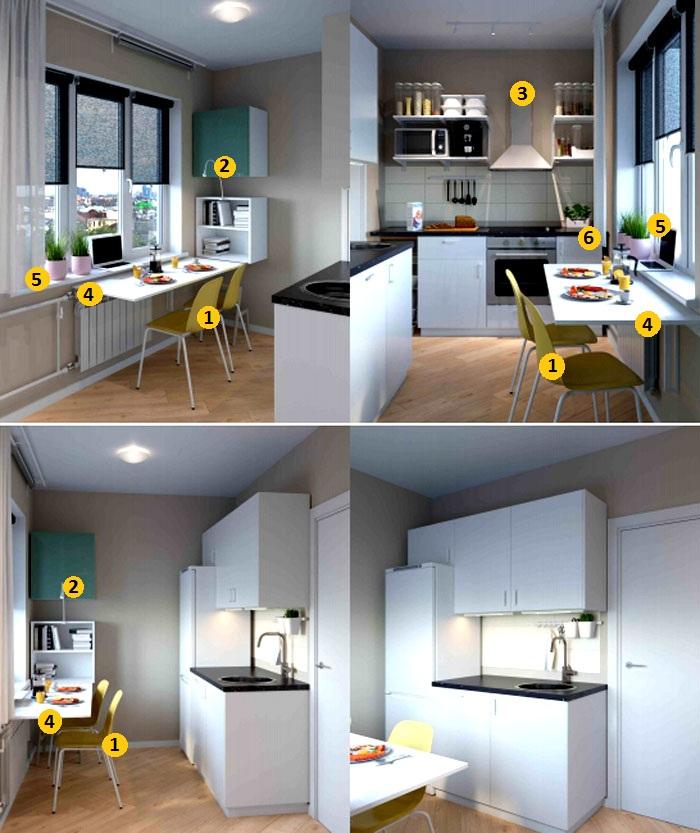 Личное пространство для всех и каждого – обстановка 1-комнатной квартиры 38 м² от ИКЕА