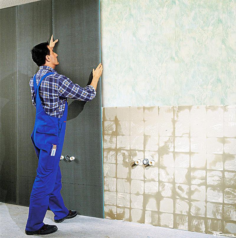 Гидроизоляция стен в ванной комнате