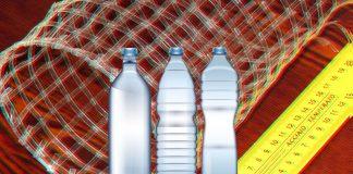 Сетка из отходов пластика