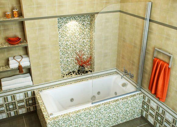 Как правильно выбрать и установить стеклянные шторки для ванной комнаты