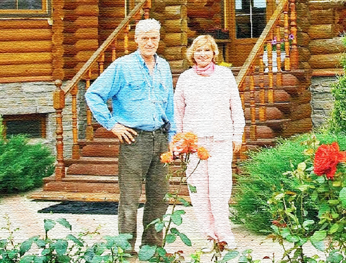 Уникальный терем Татьяны и Бориса Щербаковых, построенный без единого гвоздя