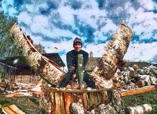 Топ-5 идей для лёгкой колки дров