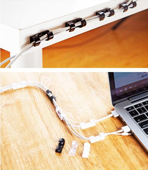 Такие держатели можно использовать для фиксации зарядных устройств