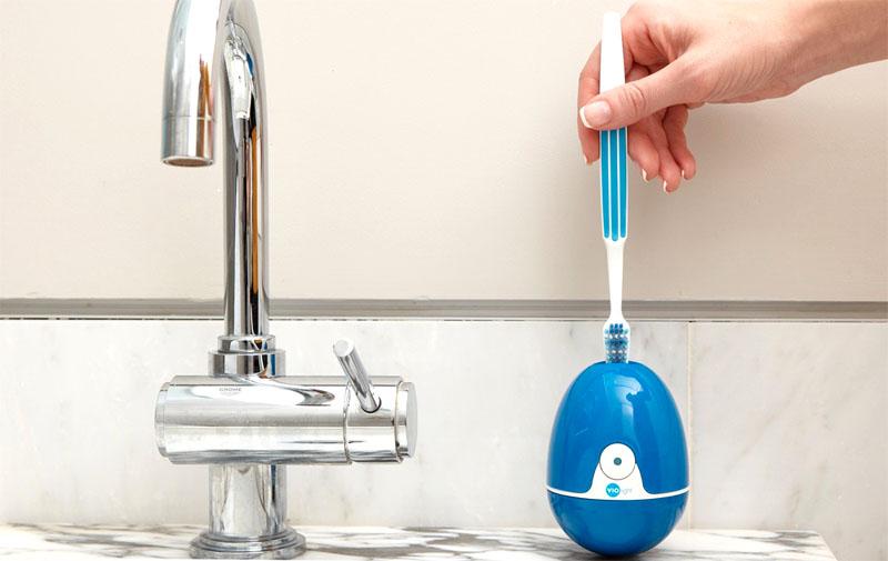 Прибор поможет хранить в ванной идеальную чистоту, не только заметную обычным глазом