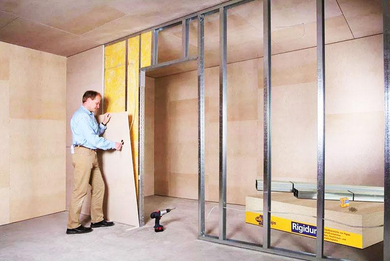 Важное значение имеет контроль за соблюдением техники монтажа перекрытий и стен