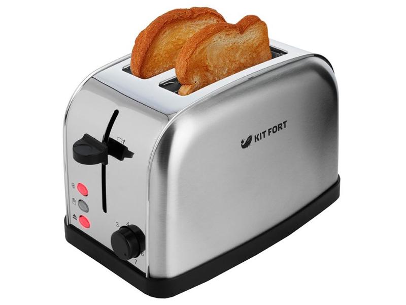 «Румяность» готовых тостов в некоторых моделях можно регулировать