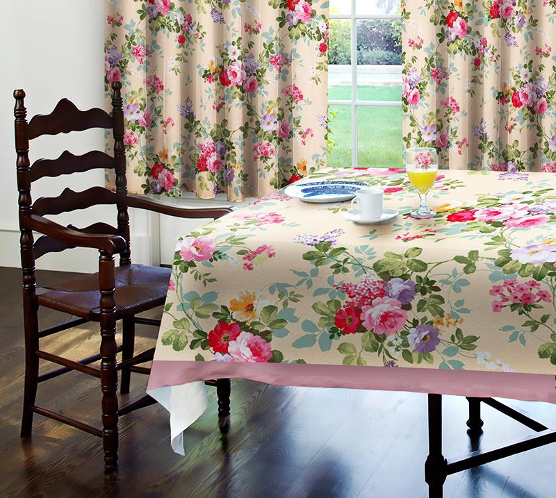 Вискозу используют для производства домашнего текстиля