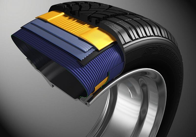 Вискозную ткань используют в современных автомобильных шинах